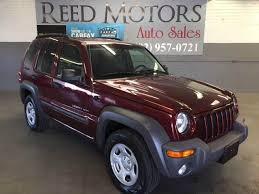 jeep liberty 2003 4x4 2003 jeep liberty sport 4dr 4wd suv in az reed motors llc