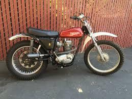 triumph motocross bike vintage 1970 triumph tr25w 250 ahrma trials or motocross bike for