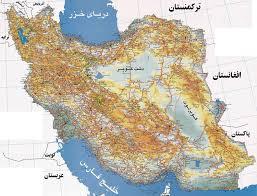 map iran iran map iran travel information