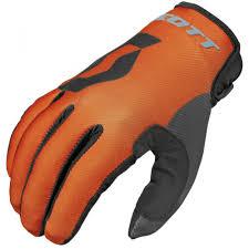 kids motocross gloves scott 350 track kids motocross gloves blue orange 2016 mxweiss