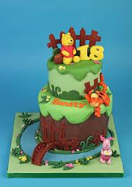 winnie the pooh cakes winnie the pooh friends cake cakey goodness