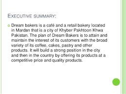 sample marketing plan of a bakery