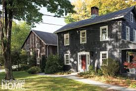 new houses being built with classic new england style galleries new england home magazine