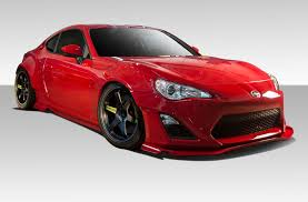 widebody subaru brz 13 16 scion frs gt500 duraflex 12 pcs full wide body kit 109045