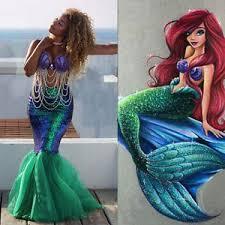 Womens Mermaid Halloween Costume Mermaid Women Halloween Costume Fancy Party Sequins