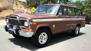 jeep wagoneer white cherokee super chief s 1 owner jeep 4x4 grand wagoneer youtube