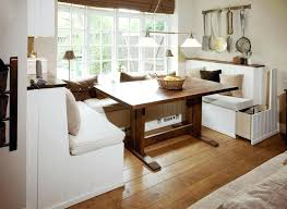 Wooden Banquette Seating Dining Table Modern Dining Tables Benches Rustic Wood Table With