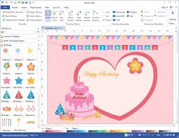 create marvelous card with card maker visio like