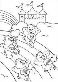 care bears coloring pages free art u0026 craft kids