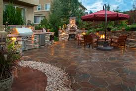 Covered Patio Ideas For Large by Download Large Patio Design Ideas Garden Design