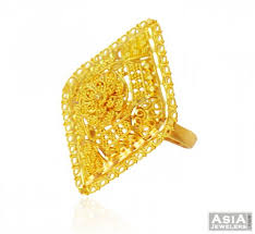 beautiful golden rings images 22k beautiful filigree ring ajri58387 22k gold ladies ring jpg