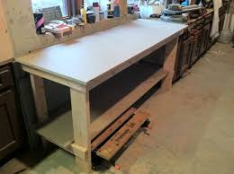 Woodworking Workbench Top Material by No Frills Workbench 4 Steps With Pictures