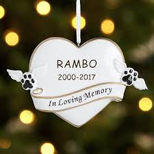 memorial ornaments personalized by personal creations