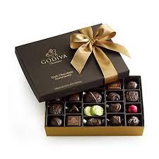 assorted gift boxes chocolate gift box gold ribbon 27 pc godiva