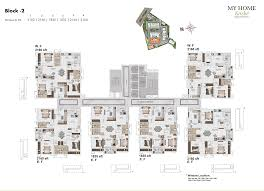 floor plans for my home my home krishe luxury 2 and 3 bhk apartments and flats in gachibowli
