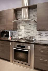 Light Wood Kitchens Light Brown Kitchen Cabinets Stainless Steel Range Hood Sunken