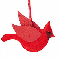 make cardinal and dove ornaments