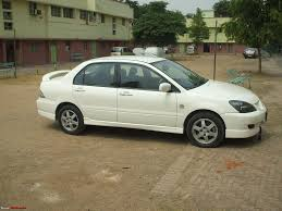 It U0027s White It U0027s Sports And It U0027s A Mitsubishi Cedia 1 4 Lakh Km