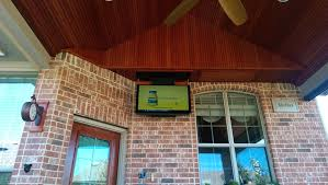 Drop Down Tv From Ceiling by Outdoor Kitchen Cabinet Drop Down Tv Entry Door By Chauffeur