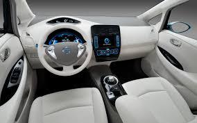 nissan leaf range 2013 2013 nissan leaf may receive leather seats darker interior more