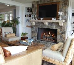 Fireplace With Blower by Fireplace Blower Living Room Beach With Armchairs Built In Shelves