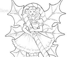 11 images of candy fairies coloring pages fairy chibi