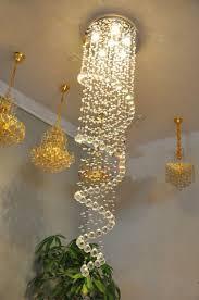 Modern Crystal Chandeliers Chandeliers 450mm 1500mm Led Modern Crystal Chandelier Light
