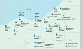 map of cleveland clinic organizational profile and the united nations global compact