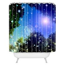 make a wish 1 shower curtain blue deny designs target
