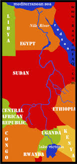 nile river on map the nile river random facts random faq