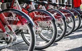 """Famosos Arranca """"MiBici"""", la bicicleta pública de Guadalajara &EW39"""
