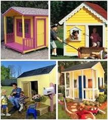 Backyard Clubhouse Plans by Free Playhouse Plans Home Yard Pinterest Playhouse Plans
