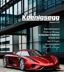 2017 koenigsegg magazine now available as a free download
