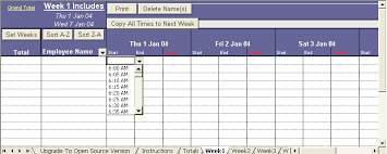 Excel Template For Timesheet Excel Timesheet That Will Keep Track Of Your Employees Hours Up
