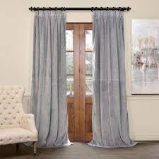 blackout gray curtains u0026 drapes window treatments the home