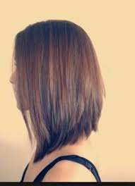 cute shoulder length haircuts longer in front and shorter in back best 25 stacked bob long ideas on pinterest longer stacked bob