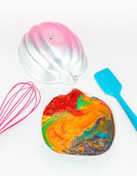 lisa frank inspired rainbow jack o lantern cake brite and bubbly