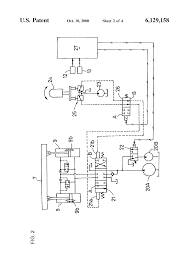 patent us6129158 hydraulic system for bulldozer google patents