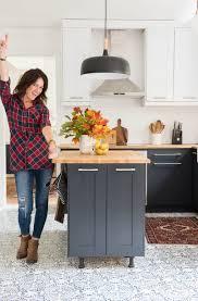 aga in modern kitchen kitchen revamp two toned modern kitchen place of my taste