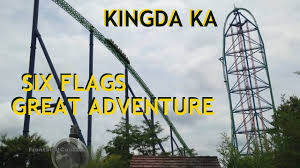 Six Flags Jackson Kingda Ka Six Flags Great Adventure Off Ride Roller Coaster Gopro