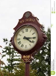 Outdoor Pedestal Clock Thermometer Outdoor Free Standing Clock Outdoor Designs