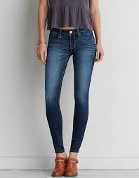 Miss Me Jeggings Aeo Denim X Super Low Jegging Sapphire Burst American Eagle