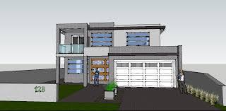 sketchup model house zijiapin