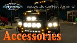 kenworth truck accessories american truck simulator accessories youtube