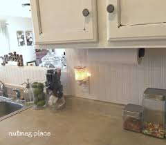 kitchen paneling backsplash kitchen backsplash beadboard kitchen cabinets glass tile