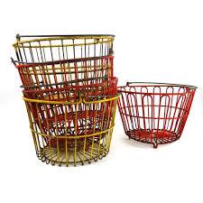 egg baskets 49 best vintage egg baskets images on egg basket