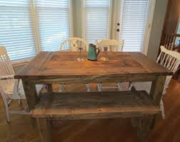 dining table bench etsy