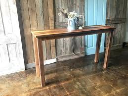 light wood console table wood console rustic wood console table natural wood console table