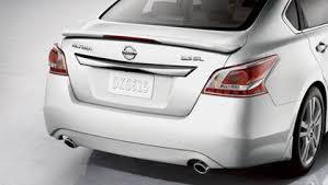 2013 nissan altima sedan rear deck spoiler