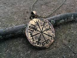 womens necklace pendants images Viking jewelry compass vegvisir pendant necklace norse jewelry jpg